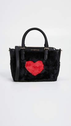 Moschino Love Top Handle Tote