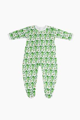 Roberta Roller Rabbit Infants Monkey Pajama Suit