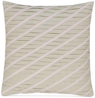 """Hotel Collection Rosequartz Linen 18"""" Square Decorative Pillow, Created for Macy's"""