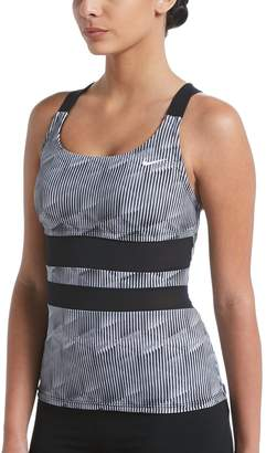 Nike Women's Radical Edge V-Back Tankini Top