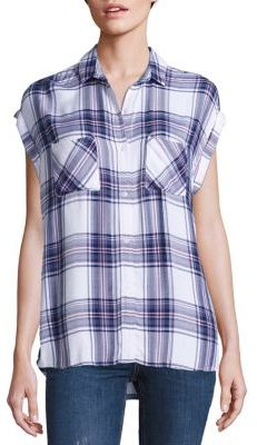 Rails Britt Plaid Shirt $132 thestylecure.com