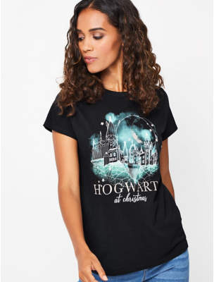 George Harry Potter Hogwarts At Christmas Top