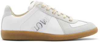 Maison Margiela White Hologram Tag Replica Sneakers