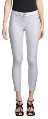 Hue Floral-Print Cropped Pants