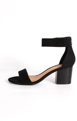 Bamboo Double Strap Heel $34 thestylecure.com