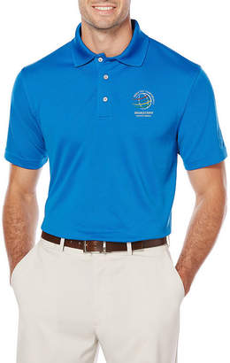 PGA Tour TOUR Easy Care Short Sleeve Mesh Polo Shirt