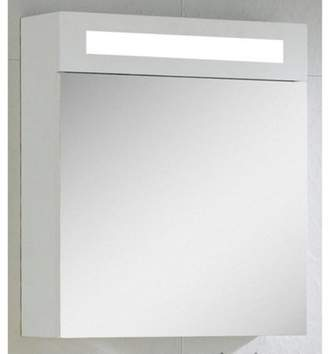 Fine Fixtures Glenwood Mirrored Surface Mount Medicine Cabinet with LED Light