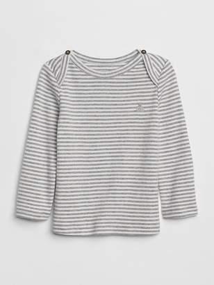 Gap First Favorite Stripe Long Sleeve T-Shirt