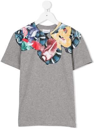 Marcelo Burlon County of Milan Kids snake print T-shirt