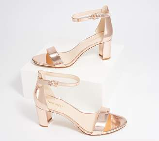 Nine West Block-Heel Sandals - Pruce