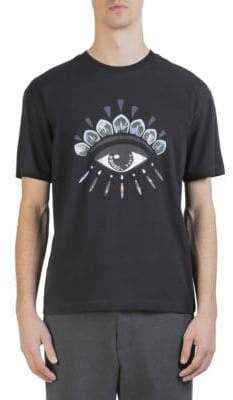 Kenzo Eye Icon Short-Sleeve Cotton Tee