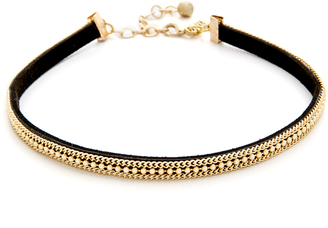 Vanessa Mooney The Teresa Choker Necklace $33 thestylecure.com