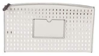 Reed Krakoff Perforated Leather Clutch Perforated Leather Clutch