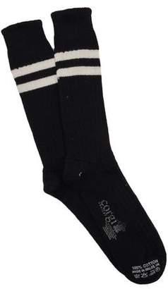 Corgi Football Sock in Black