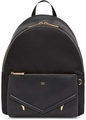 Fendi large appliqué backpack