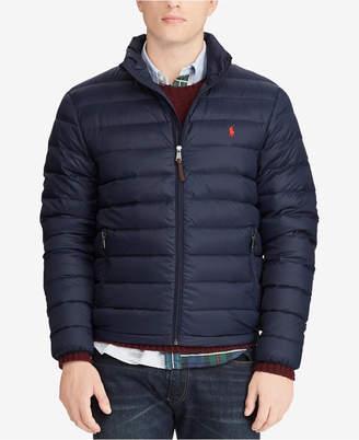 Polo Ralph Lauren Men Big & Tall Packable Quilted Down Jacket