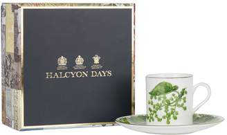 Halcyon Days Al Fresco Cup and Saucer Set
