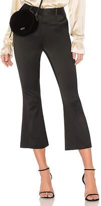 Frame Crop Flare Trouser