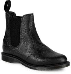 Dr. Martens Flora Embossed Chelsea Boots