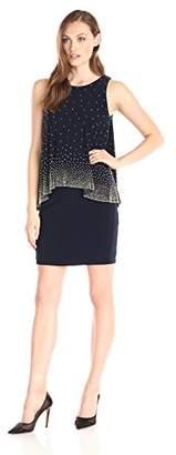 Betsy & Adam Women's Short Jersey Popover Beaded $32.51 thestylecure.com