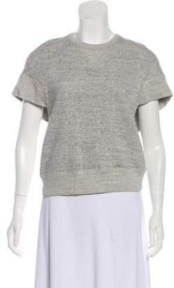 Alexander Wang Wrap Short Sleeve Sweater