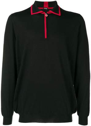 Kiton half-zip sweater