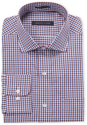 2ca65dd74 Tommy Hilfiger Red Gingham Regular Fit Dress Shirt