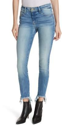 Frame Le Skinny de Jeanne Fray Hem Stiletto Jeans