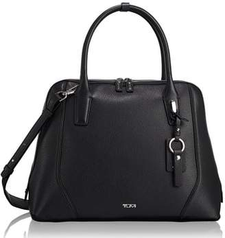 Tumi Stanton Janet Leather Dome Satchel Briefcase