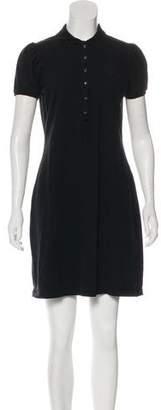 Burberry Short Sleeve Mini Dress