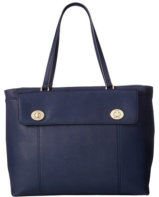 Tommy Hilfiger Polly II Tote Saffiano $99 thestylecure.com