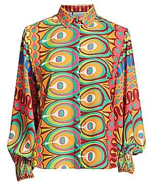 Alexis Women's Kaito Multicolor Print Top