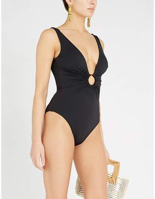 Zimmermann Wayfarer low-back swimsuit