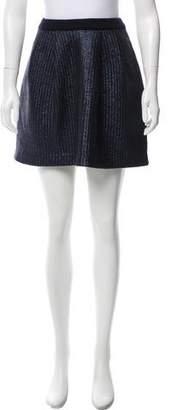 Tory Burch Wool Mini Skirt