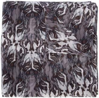 Thomas Wylde smoke print scarf