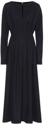 Roksanda Signa wool maxi dress