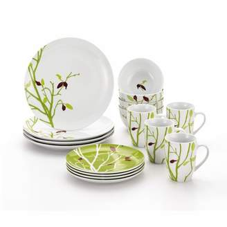 Rachael Ray Seasons Changing 16 Piece Dinnerware Set Service for 4