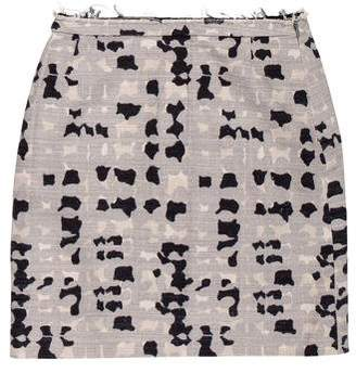 Marc Jacobs Abstract Print Mini Skirt