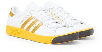adidas Forest Hills Leather and Mesh Sneakers
