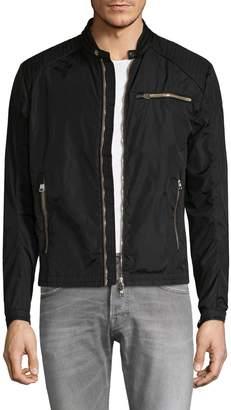 Moncler Men's Mercure Leather Trim Jacket