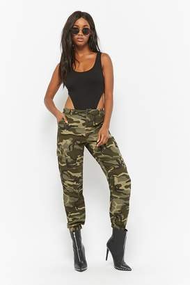 Forever 21 Camo Print Joggers