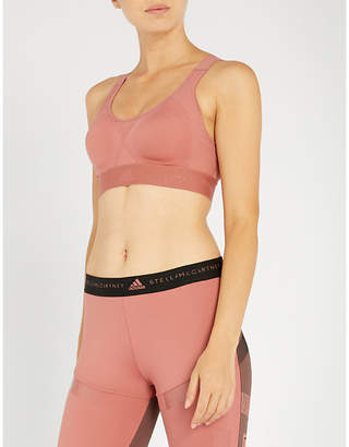 adidas by Stella McCartney Stronger For It microfibre sports bra