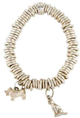 Links of London Sweetie Dog and Cat Charm Bracelet