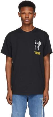 Toga Virilis Black Logo Print T-Shirt
