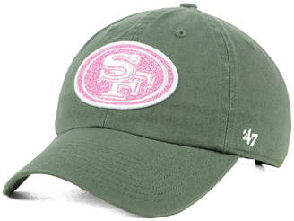 '47 Women's San Francisco 49ers Moss Glitta Clean Up Cap