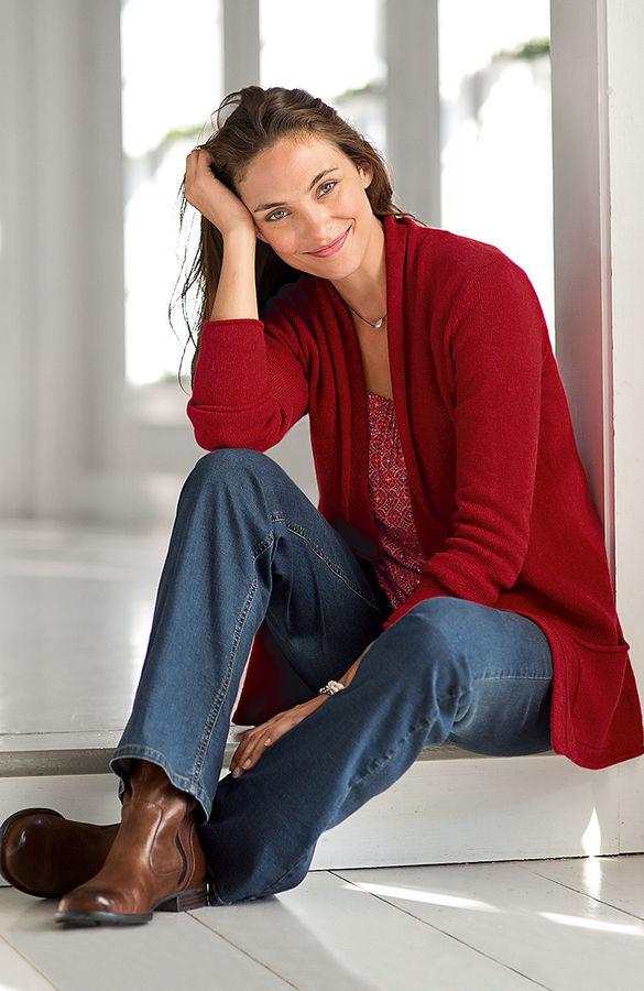 J. Jill Alpine luxury cardigan
