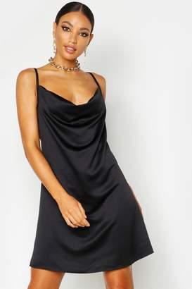 87cc3dee8ee Cowl Neck Mini Dress - ShopStyle UK