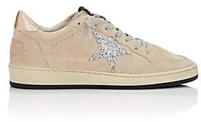 Golden Goose Women's Ball Suede Sneakers-Beige, Tan