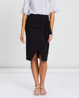 Forcast Leanne Asymmetric Skirt