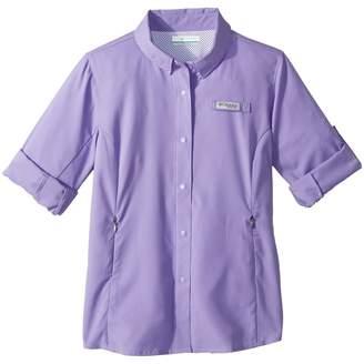 Columbia Kids Tamiamitm Long Sleeve Shirt Girl's Clothing